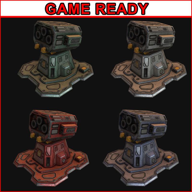 3d model of ready