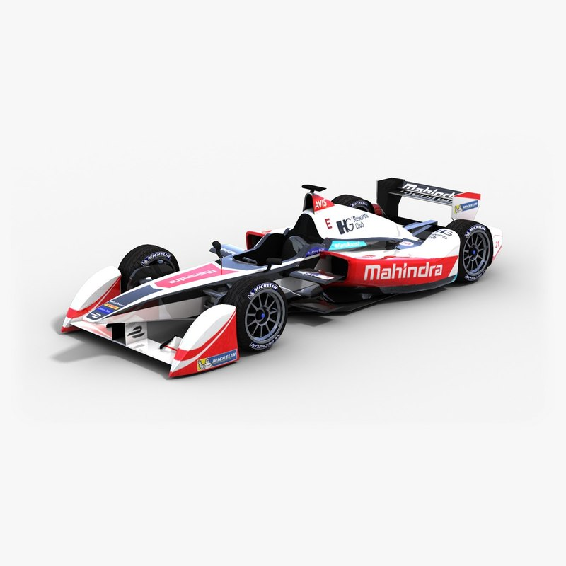 3d mahindra racing formulae team
