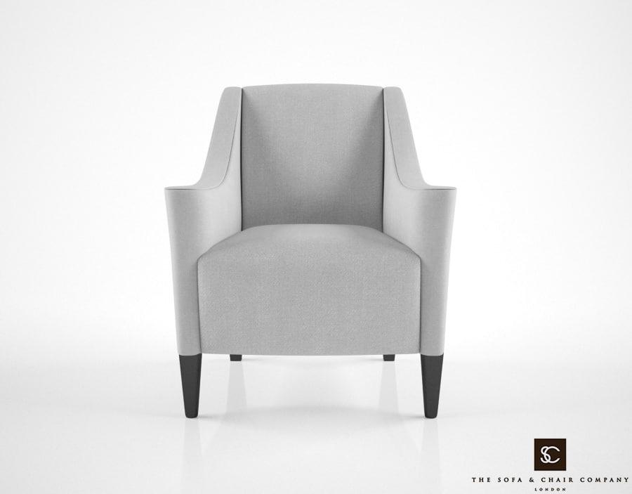 3d model sofa chair company rivera