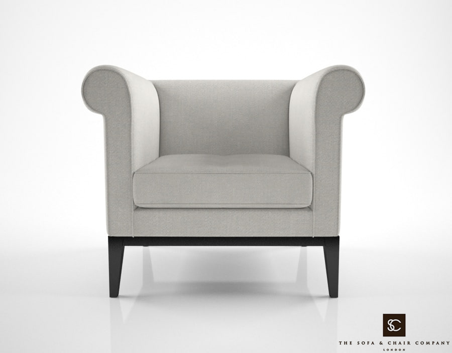 sofa chair company rubens 3d model
