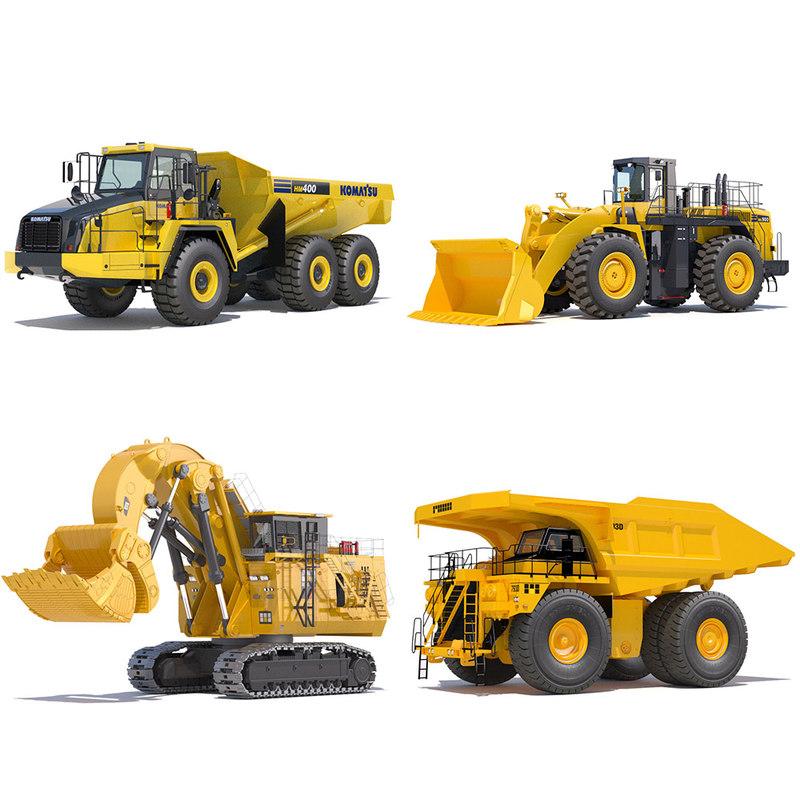 3d mining machines
