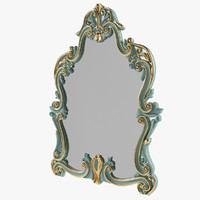 3d model mirror modenese gastone