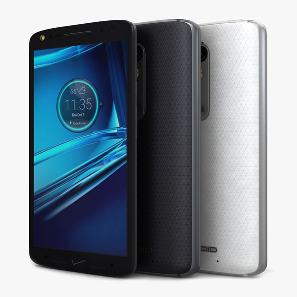 motorola droid turbo 3d model