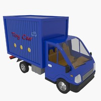 3d model of toy car