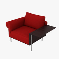 3dsmax molteni c controra armchair