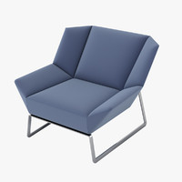 molteni c tight chair 3d fbx