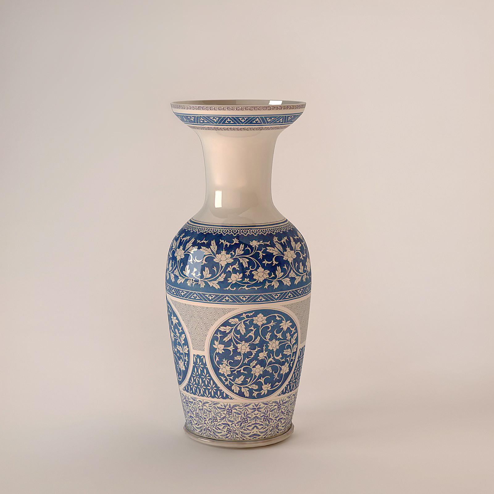 chinese vase blue max