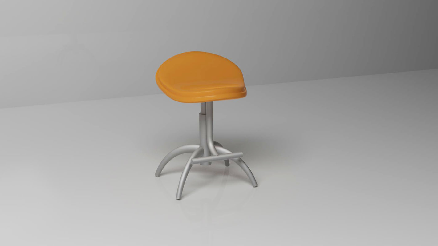 x metal stool
