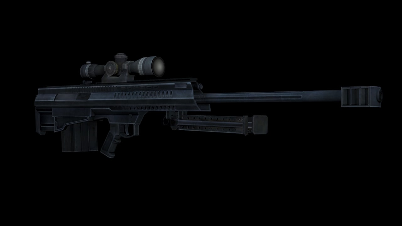 x barrett xm500 sniper rifle