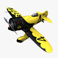 purchase gee bee z 3d c4d