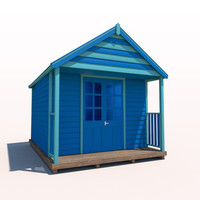 beach hut 3ds