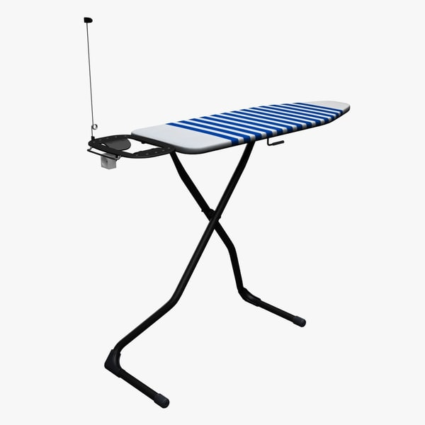 3d ironing stand