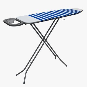 3ds max ironing stand board