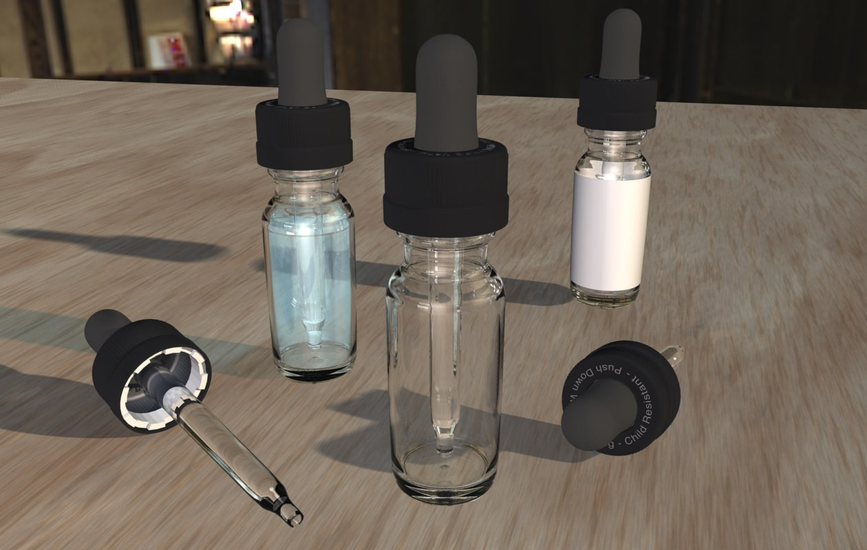 eyedropper bottle eye dropper 3ds