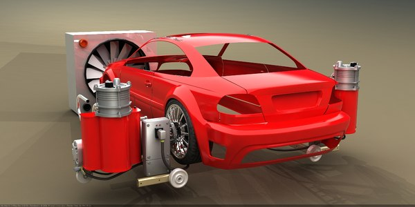 3d model car chassis dynamometer