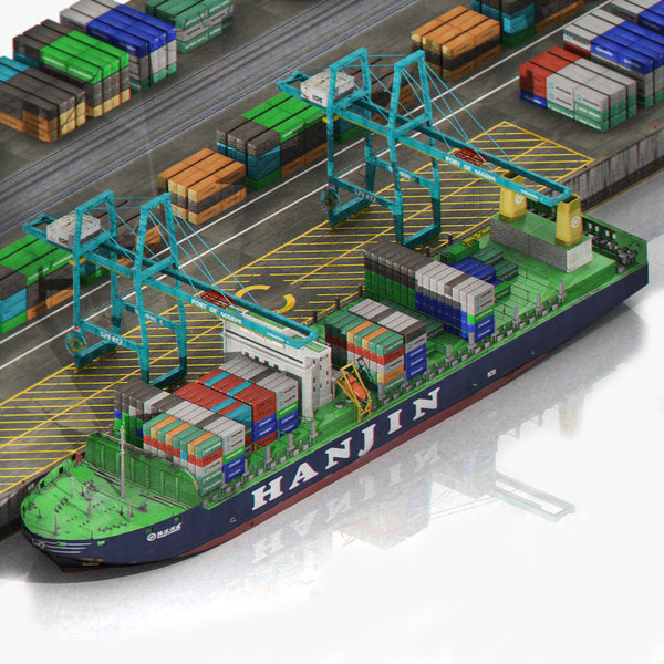 sea port harbour container max