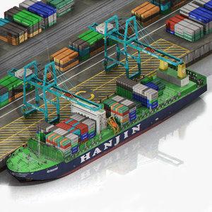 sea port harbour container max