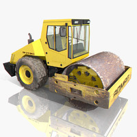 max bomag road roller