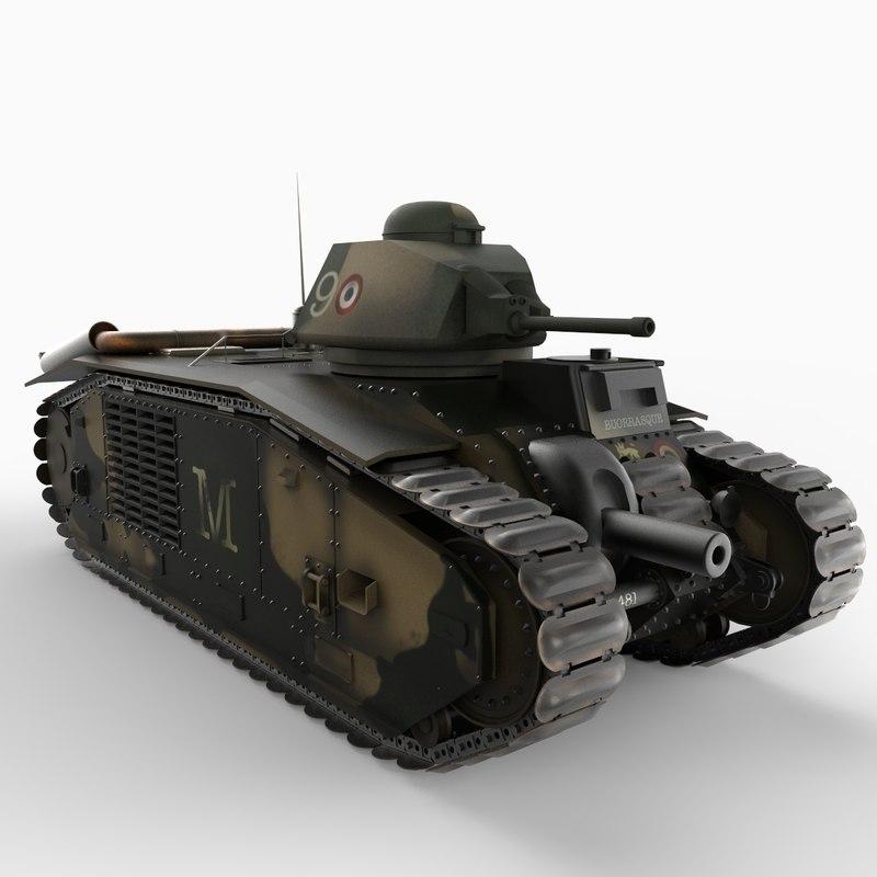 char b1 heavy vehicle obj