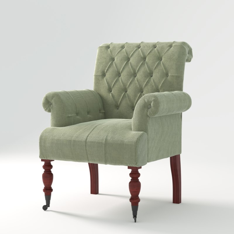 3dsmax armchair roomers