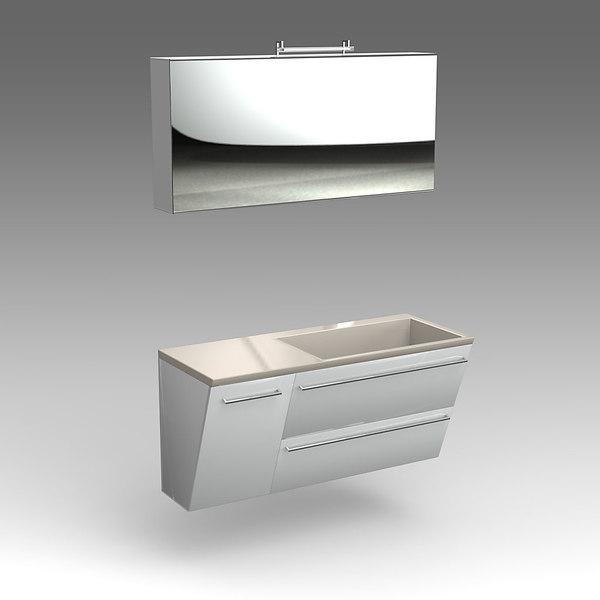maya glass wash-basin cabinets