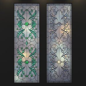 stained-glass frosted glass max