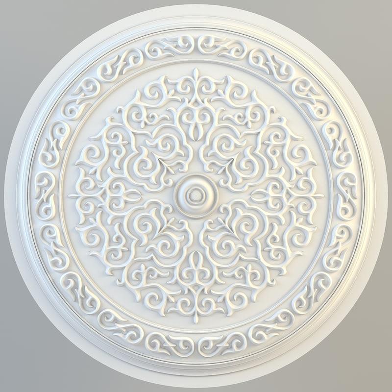 max ethnical ornament rosette