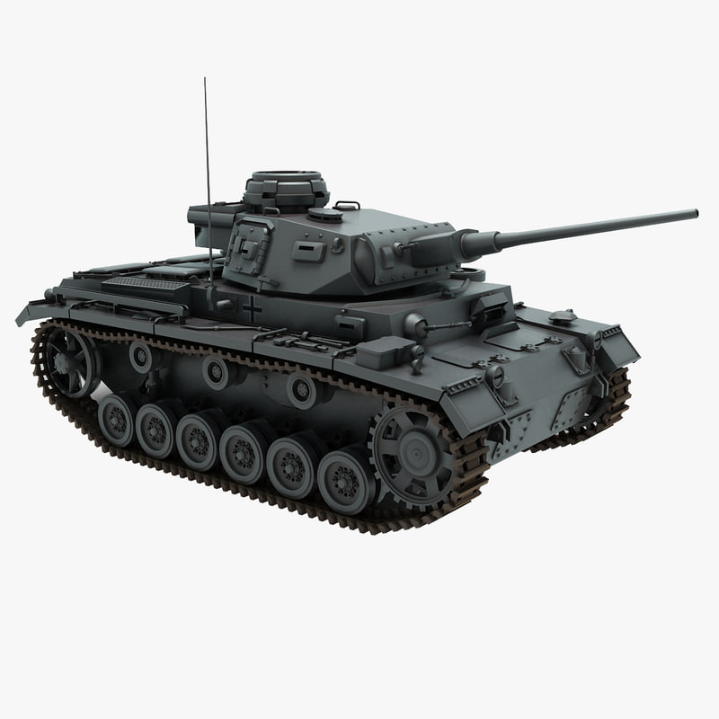 3ds max panzer iii