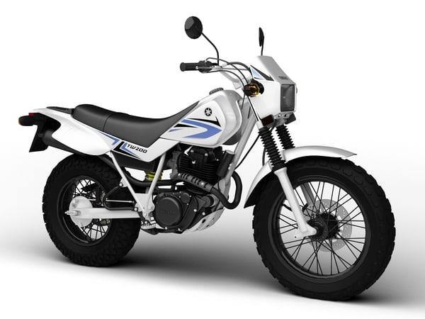 3d yamaha tw200 2012