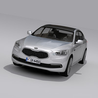 kia quoris 2015 3d model