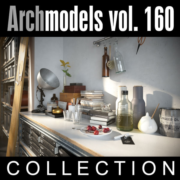 3ds max archmodels vol 160