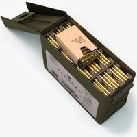3d max ammunition box v3
