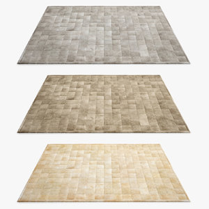 restoration hardware rug 3d max