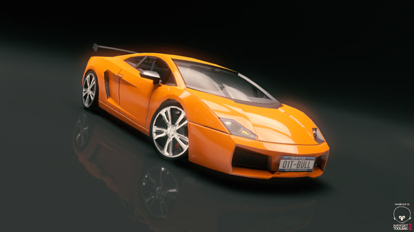 race car 3d fbx
