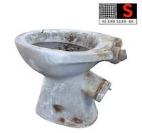 realistic toilet bowl 4k 3d ma