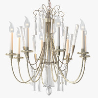 max elegant chandelier crystals lightolier