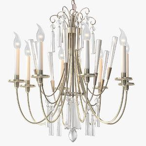 max elegant chandelier crystals lightolier