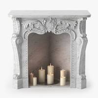 Baroque Fireplace