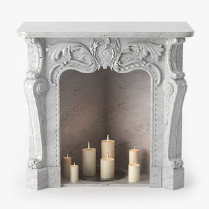 fireplace baroque max