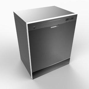 3d max dish washer dishwasher