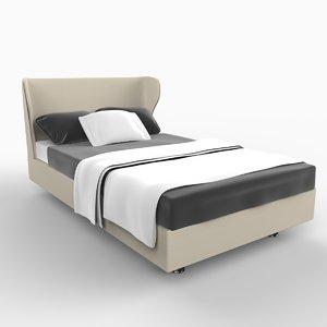 3d model rea bed furniture