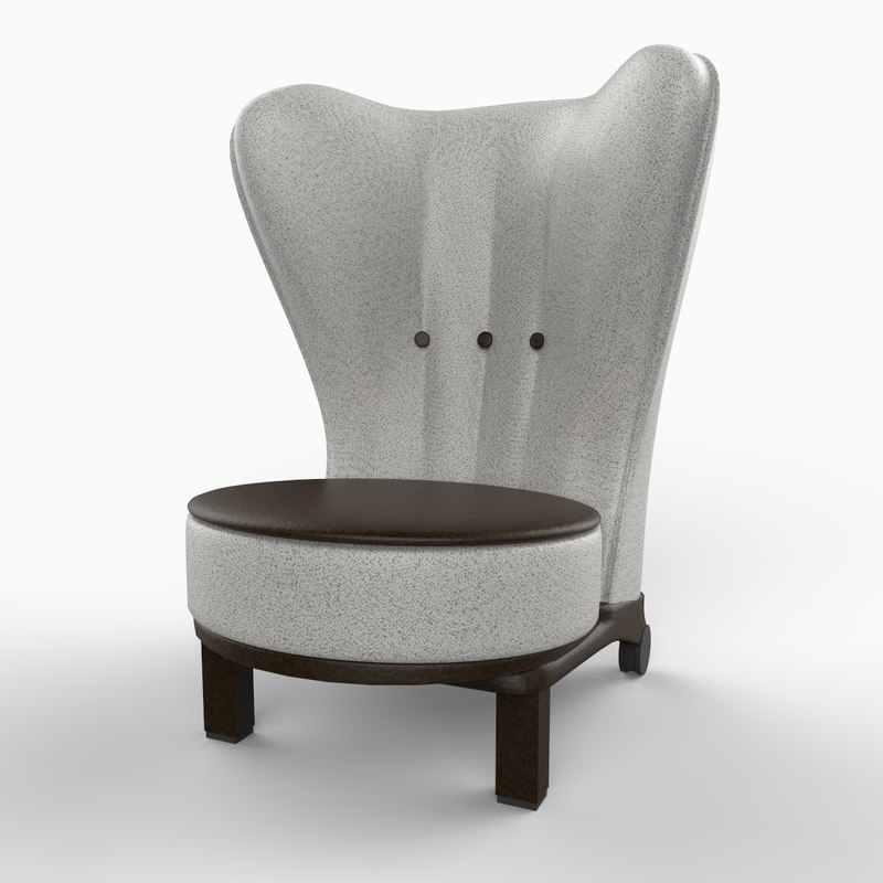 3ds rea chair furniture