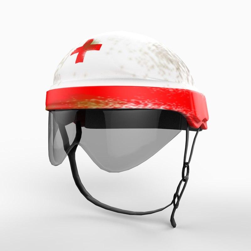 3dsmax rescue helmet