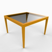 urban table 3d model