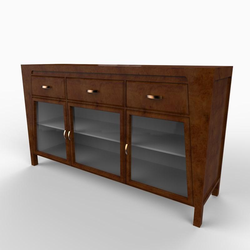 maya cabinet furniture wood