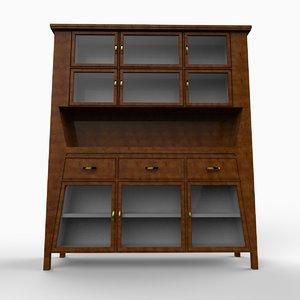 cabinet 3d 3ds