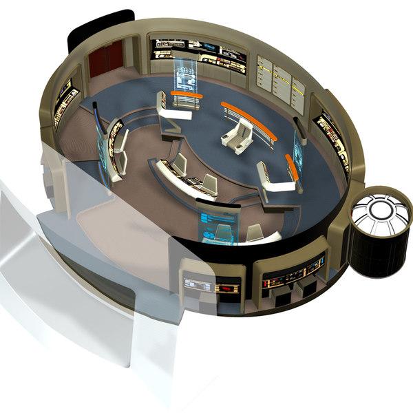 3d model bridge starship xt 2