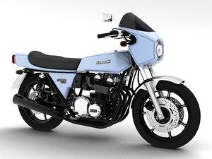 kawasaki z1-r 1977 3d model
