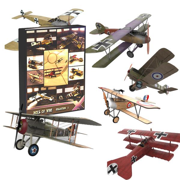 world war d 1 3d model