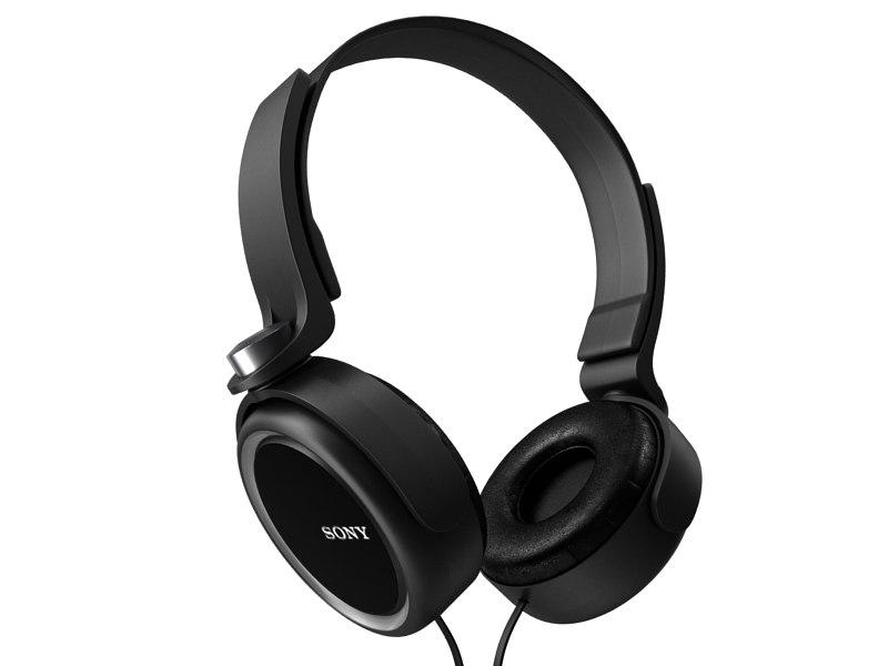 sony headphones 3d 3ds